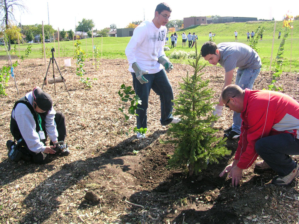 Planting Day 2008