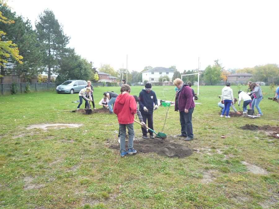 Planting Day 2012