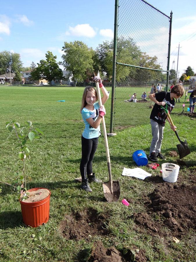 Planting Day 2011