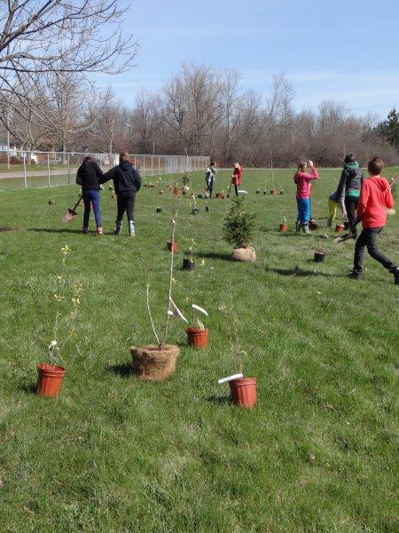Planting Day Spring 2014