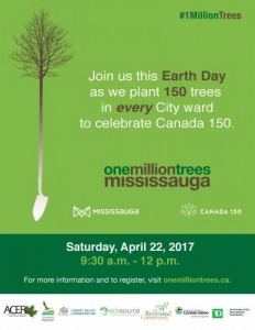 2017 Earth Day Tree Planting Flyer
